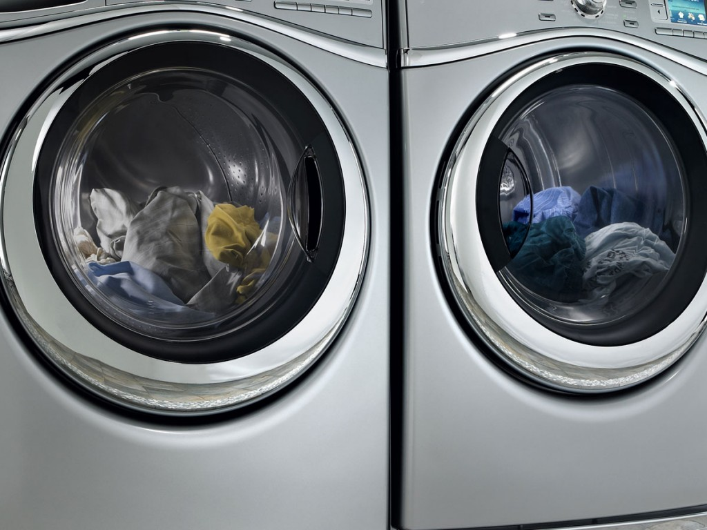 Washer and dryer photo